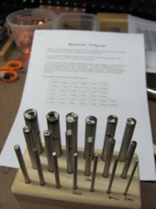 "mandrel set and ""map"""