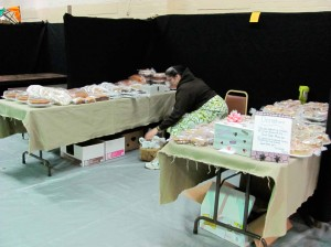 Mennonite Baked Goods booth - they sold out the first day.