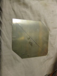 Argentium Silver sheet ready for microfolding (corrugation) .3mm thick