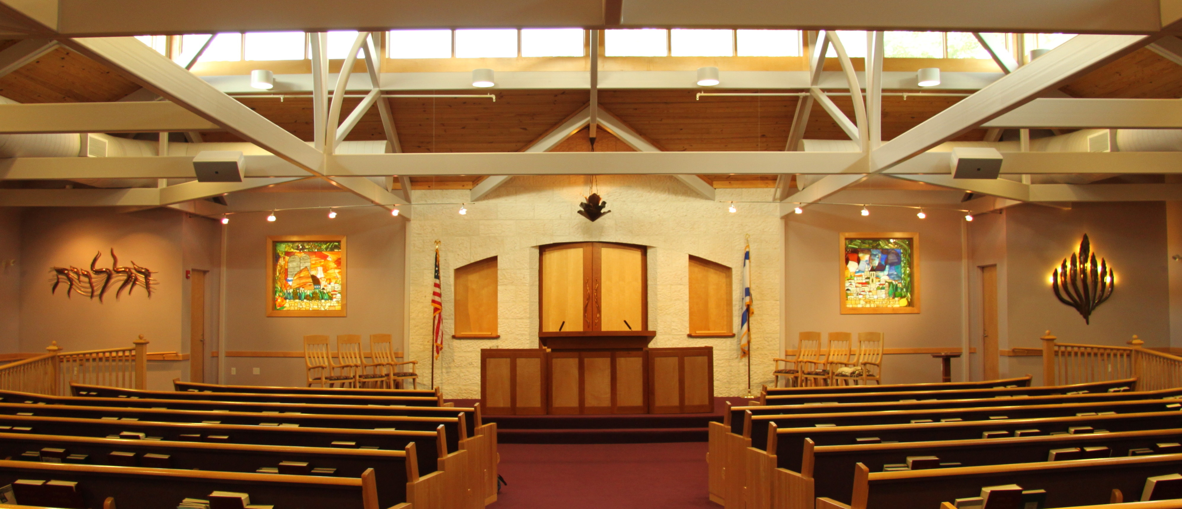 Sanctuary of Temple Beth Abraham