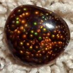 Deer Creek Fire Agate Gemstone