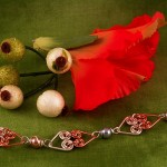 Wrapped Hearts Bracelet