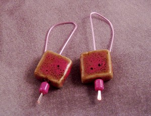 Simple Forged Earrings