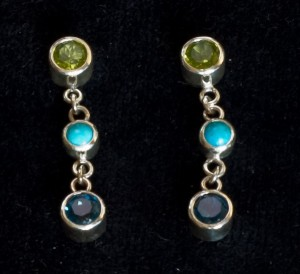 Close-up of earrings