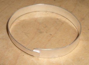 Bracelet made by Nancy during Bangles and Dangles