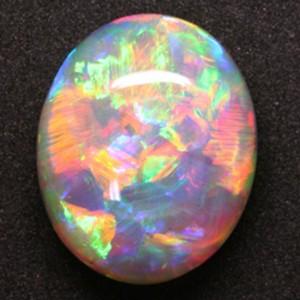 7.75 ct. Harlequin Opal, Lightning Ridge, Australia