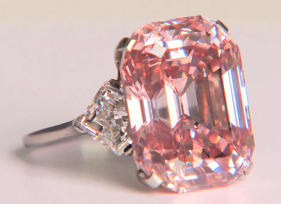 24.78 ct. Fancy Intense Pink Diamond