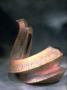 Tall Rueger fold, copper