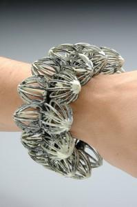 White Lantern bracelet, Liz Schock/Elizabeth Podobinski
