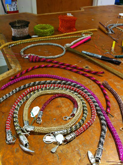 chain maille jewelry workshop karon karen