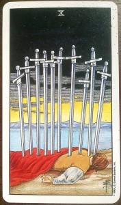 tarot 10 of swords