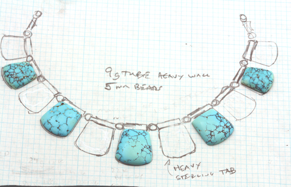 rare turquoise necklace