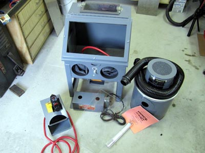 Trinco 20 Table Top Sand Blasting Cabinet Overview Pat