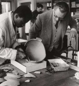 Hodges at the Institute of Archaeology, 1958/59