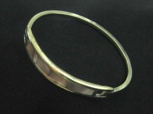 abalone clip bracelet