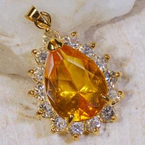 Golden Citrine pendant